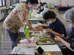 【女性部】津中央支部フェルトを使った七福神作り