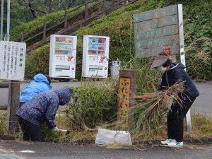 【女性部】地域貢献活動「錫杖湖清掃」